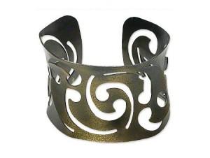 Armreif Designer antik Bronze