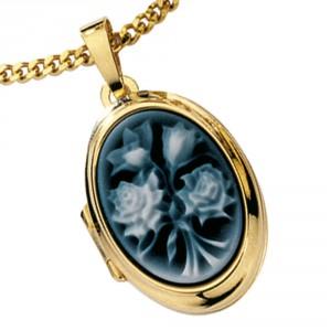 Medaillon mit Camée