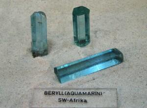 Aquamarin-Beryll-Varietät