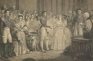Stich der Hochzeit von Königin Victoria