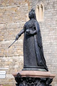 Statue zu Ehren von Königin Voctoria