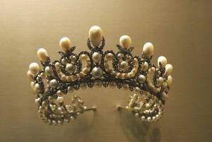 Eine Tiara - ein antiker Kopfschmuck