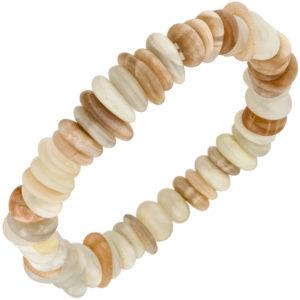 Armband mit Sonnenstein 19 cm elastisch